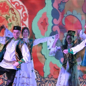 Праздничное мероприятие, посвященное празднованию Нового года (Казань, 370 чел.)